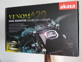 Watercooler Akasa Venom A20 Radiador De 240mm Cooler P/ Cpu