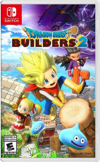 Dragon Quest Builders 2 - Switch - Mídia Física