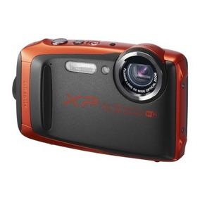 Câmera Fujifilm Finepix Xp90 Wifi À Prova D´agua - Laranja