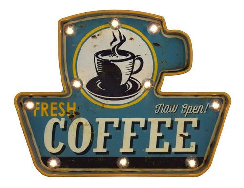 Letrero Fresh Coffee