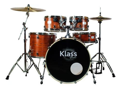 Bateria Klass Drum Studio 2000 Wood Bumbo 22