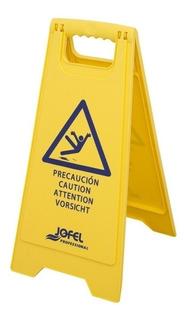4 Piezas Señal De Seguridad Piso Mojado Af042 Jofel