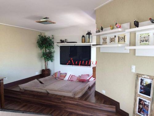 Apartamento À Venda, 150 M² Por R$ 680.000,00 - Vila Bastos - Santo André/sp - Ap0980
