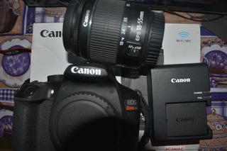 Camara Profesional Canon Rebel T6