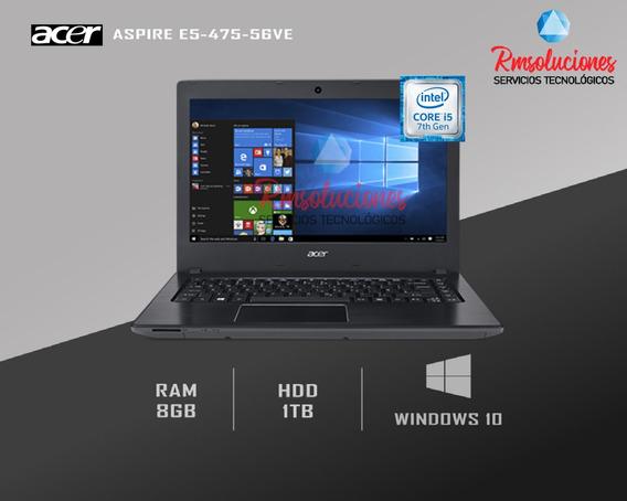 Laptop Acer Aspire E5-475-56ve Core I5