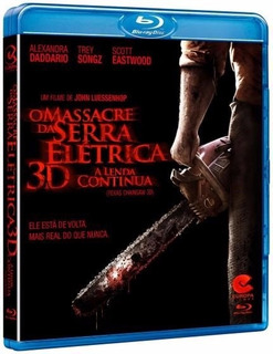 Blu-ray 3d O Massacre Da Serra Elétrica A Lenda Continua