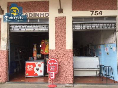 Salão Para Alugar, 154 M² Por R$ 4.000/mês - Jardim - Santo André/sp - Sl0054