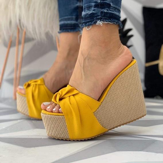 Plataforma Yute Tacon Nyc Shoes