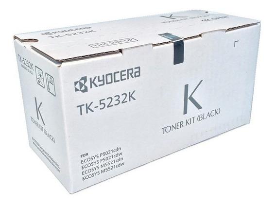 Cartucho Original Kyocera Tk-5232k P5021cdn M5521cdn Preto