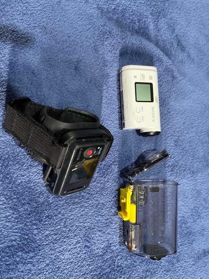 Câmera Filmadora Sony Action Cam As100v Gopro Sport Fisheye
