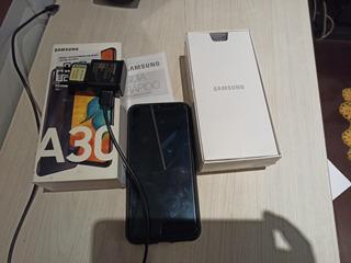 Celular Samsung A30 Usado En Caja/ 1 Año De Uso
