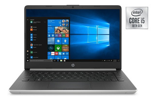Notebook Hp 14 Core I5 10ma Gen 4gb 128gb Ssd Win10
