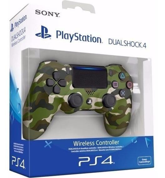 Controle Ps4 Playstation 4 Dualshock Original Sony Camuflado