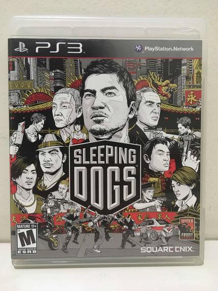 Sleeping Dogs Sony Playstation 3 Ps3 Semi Novo Perfeito
