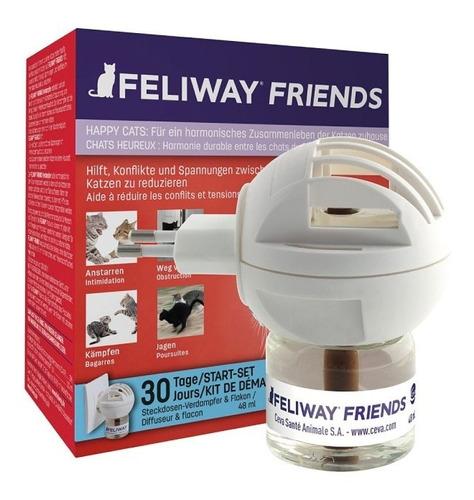 Feliway Friends Difusor + Repuesto 48ml - Envío Gratis