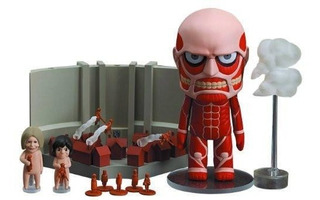 Figura Nendroid 360 Colossus Titan Set Attack On Titan/snk
