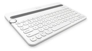 Teclado Logitech Bluetooth K480 - Blanco (tecltk480b)