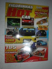 Album Figurinhas Hot Car Completo 2005 Panini Tuning Hotrod