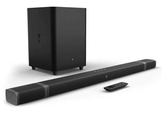 Jbl Soundbar 5.1 Conectividade 4k Wireless 218 Rms Sem Fio