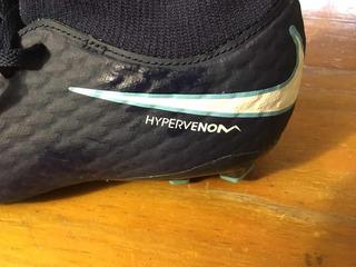 Botines Botita Bota Césped Niños Hypervenom Nike