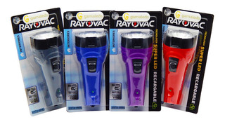 Linterna Led Rayovac Recargable Super Led 56 Lumens 21 Horas