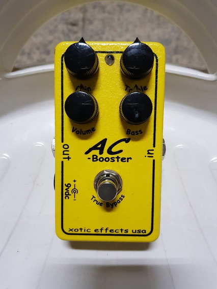 Pedal Xotic Ac Booster - Top Boutique - Super Conservado!!!!