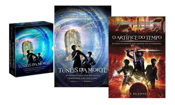 Livro Box Túneis Da Morte - O Artífice Do Tempo - 2 Livros