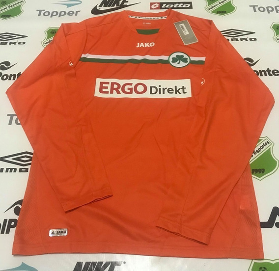 Camisa Oficial Greuther Furth-ale Third Jako Tamanho G