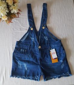 Macaquinho Salopete Plus Size Jeans