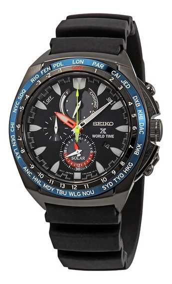 Seiko Prospex Solar World Time Safira Ssc551p1