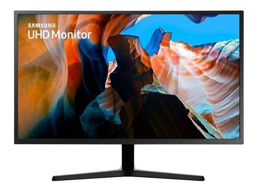 Imagem 1 de 4 de Monitor Samsung 31,5 Uhd Lu32j590uqlxzd Hdmi Amd Freesync In