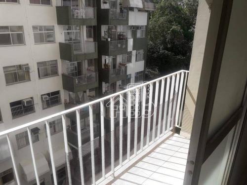 Apartamento Com 2 Dormitórios À Venda, 60 M² Por R$ 380.000,00 - Ingá - Niterói/rj - Ap3498