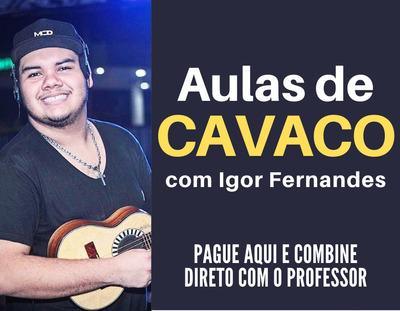 Aulas De Cavaquinho Com Igor Fernandes