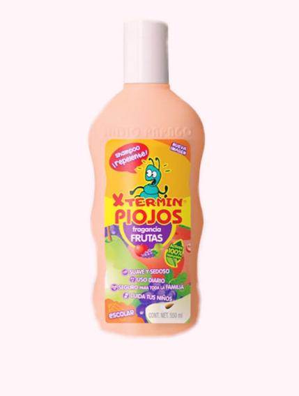 Shampoo Repelente De Piojos, X Termin Piojos Aroma Frutal ,