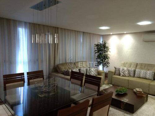 Apartamento À Venda, 127 M² Por R$ 750.000,00 - Vila Assunção - Santo André/sp - Ap10879