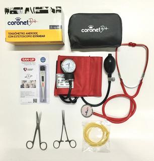 Kit / Set De Enfermería Con Tensiometro A Colores