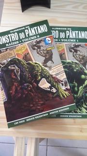 Monstro Do Pântano Raízes Volumes 1 E 2
