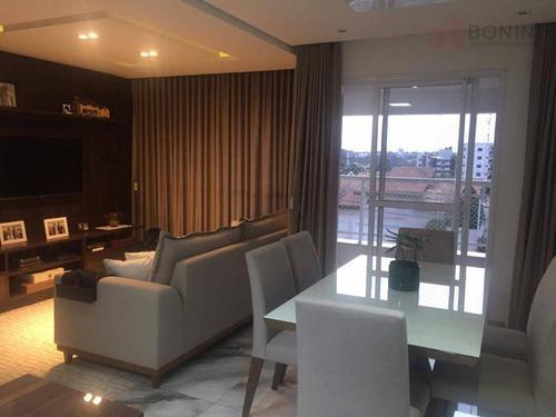 Apartamento Com 3 Dormitórios À Venda, 88 M² Por R$ 655.000,00 - Jardim São Paulo - Americana/sp - Ap0620