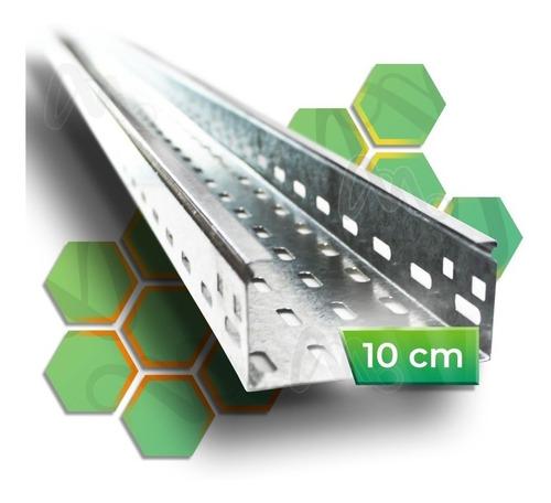Imagen 1 de 9 de Bandeja Porta Cable Perforada 10cm  100mm X 3 Metros