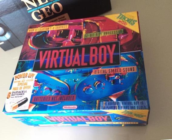 Virtual Boy Somente Caixa !!