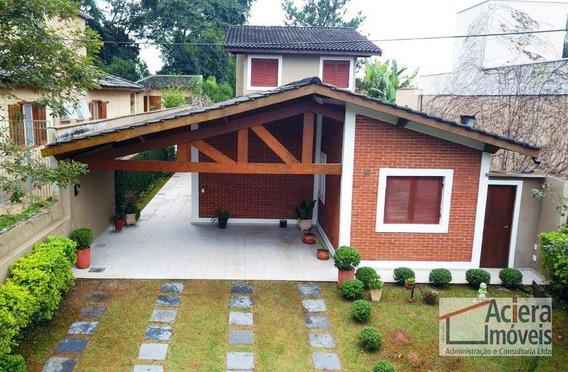 Veredas Da Granja - Excelente Casa Térrea Com 3 Suítes E Área Gourmet! - Ca2137