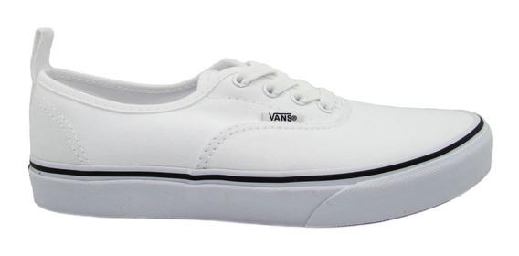 Tenis Vans Authentic Elastic Lace Vn0a346zlxq White Blanco