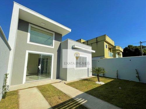 Imagem 1 de 28 de Casas Lineares Independentes, Extensão Serramar/ Rio Das Ostras! - Ca1263