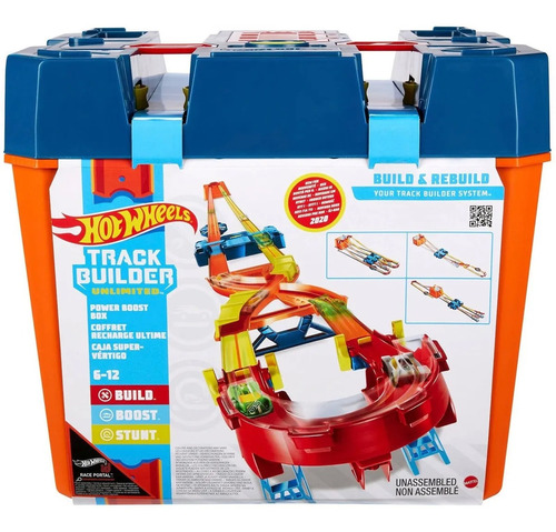 Hw Tb Pista Track Builder Mega Caixa Maximo Impulso