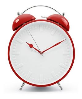 Reloj Despertador Gigante Big Time Gato Campanilla