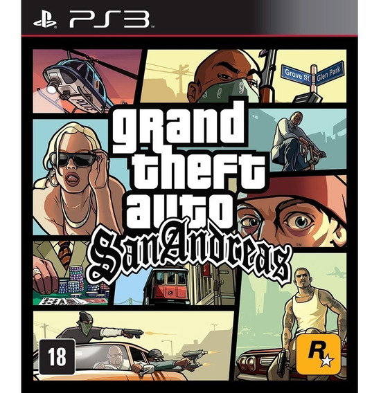 Gta San Andreas Remastered Ps3 Psn Promoção Envio Imediato
