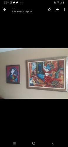 Pinturas Al Oleo, Plumillas, Cuadros,cerámicas, Floreros Ant