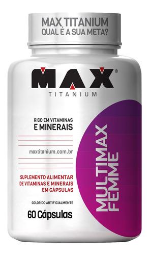 Multimax Femme Max Titanium 60 Caps