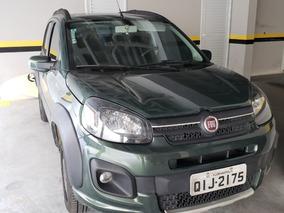 Fiat Uno Way Verde 2017 Flex 4 Portas