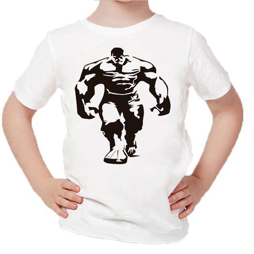 Playera Para Niños Estampado De Hulk